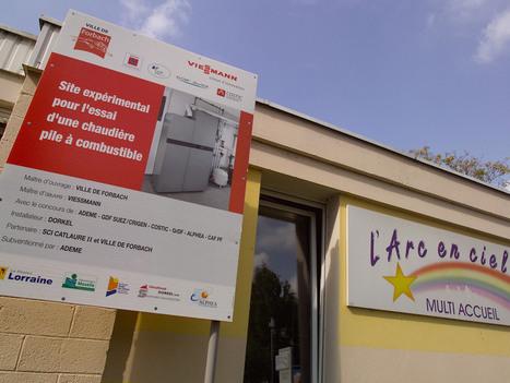 Labo à ciel ouvert, Forbach teste des chaudières à pile à combustible : 17-10-2014 - Batiweb.com | Cleantech & ENR | Scoop.it