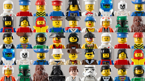 Exclusive: The Evolution of the Minifig | Matmi Staff finds... | Scoop.it