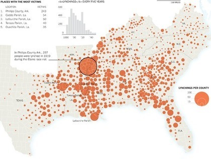 History of Lynchings in the South Documents Nearly 4,000 Names | History and Social Studies Education | Scoop.it