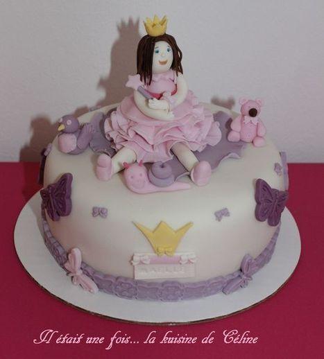 gâteau princesse en pâte à sucre! | billet | Scoop.it