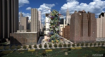 Urban Farm Made of Shipping Containers - Jetson Green | Cityfarming, Vertical Farming | Scoop.it
