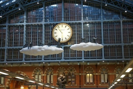 Surreal Clouds Hover Above London's Trains - My Modern Metropolis | Le It e Amo ✪ | Scoop.it