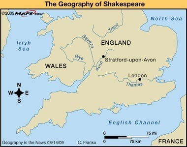 DIDJUNO? WHAT WAS SHAKESPEARE'S GEOGRAPHY? | Geography in the News | Scoop.it