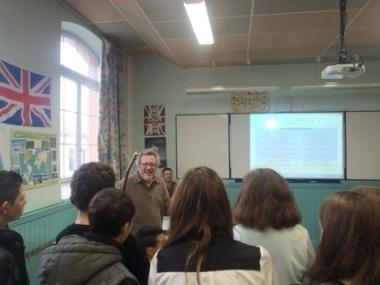 Quand Jeff Zima rend visite à Victor Hugo | Collège Victor Hugo (Carmaux) | Scoop.it