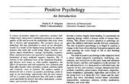 Positive Psychology Articles | Stronger Leader | Scoop.it