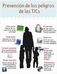 Infografía, prevención de los riesgos de las TICs Infografía prevención de los peligros de las TICs – | Riesgos en Internet | Scoop.it