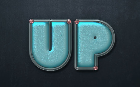 Turquoise Metallic Text Effect in Photoshop   The Official Photoshop Roadmap Journal   Scoop.it