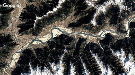 Google Earth: Νέα αναβάθμιση μας δείχνει σε timelapse πόσο άλλαξε ο πλανήτης μας από το 1984 μέχρι σήμερα [Videos]   something to look out for   Scoop.it