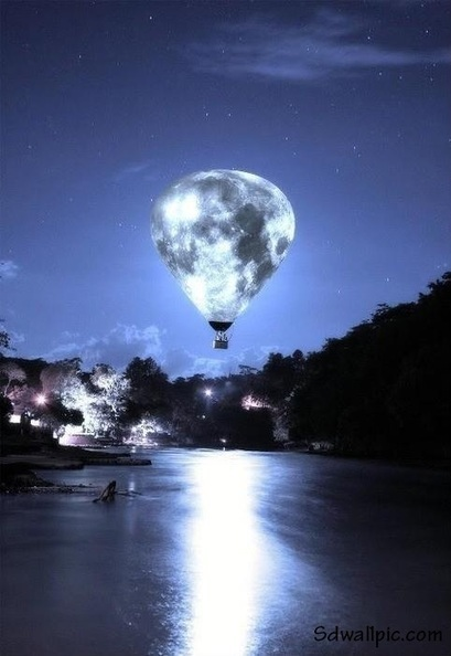 Moon Balloon It is Beautiful   Funny Pic And Wallpapers   Scoop.it