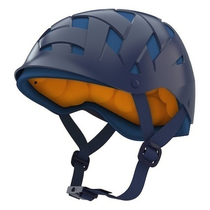 New Helmet Design Reduces Bicycle Injuries with Bean Bags | Cool Outdoor Furniture | Scoop.it