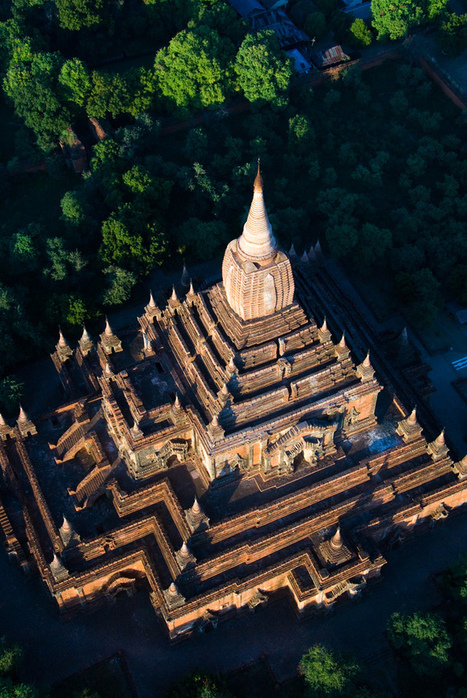 Voyage en ballon au dessus de Bagan « Flickr Blog | The Blog's Revue by OlivierSC | Scoop.it