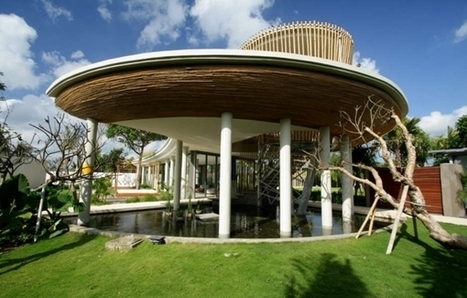 Green architecture by Yoka Sara: A contemporary paradise | sustainable architecture | Scoop.it
