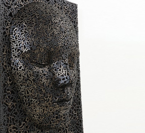 bicycle chain sculptures by seo young deok | Art! | Scoop.it