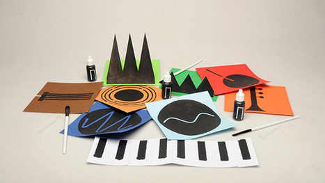 Conductive Paint Turns Plain Old Paper Into Playable Instruments | Strange days indeed... | Scoop.it