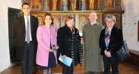 Le préfet de région Midi-Pyrénées en visite à l'église de Jézeau | Vallée d'Aure - Pyrénées | Scoop.it