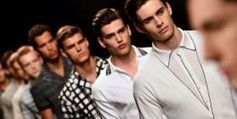 Cuirs et imprimés, premières tendances de la mode masculine été 2014, à Milan - Culturebox   Tendance du marché du textile   Scoop.it