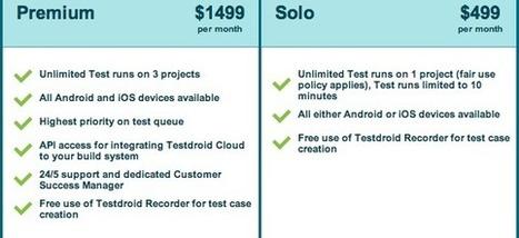 No More Unpredictable App Testing Costs! - Testdroid | App Marketing | Scoop.it