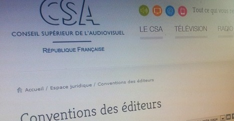 Le CSA obtient une régulation des sites web des chaînes TV - Numerama | Régulation d'internet | Scoop.it