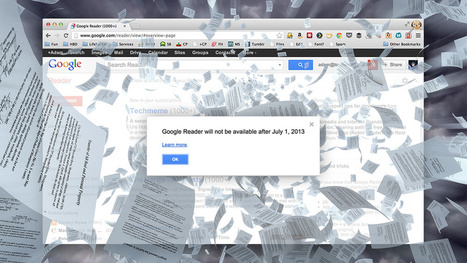 Google Reader Is Shutting Down; Here Are the Best Alternatives | The Nacho-Lazy Technical Writer's Depository | Scoop.it