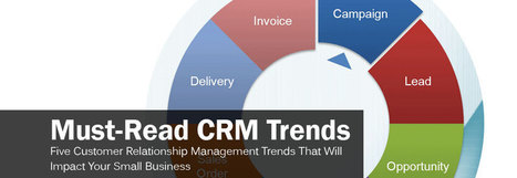 Five Customer Relationship Management (CRM) Trends That Will Impact Your Small Business | Designing  service | Scoop.it