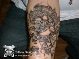 Mexican Aztec Latin Tattoo | Tattoos home desing hairstyle fashion | Scoop.it