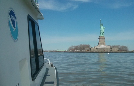 NOAA Begins 2013 Post-Sandy Hydrographic Surveys at Statue of Liberty | Ocean Science | Scoop.it