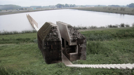 Watch a concrete WWII bunker get cut in half | Recycled architecture and design | Scoop.it
