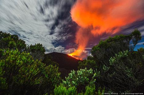 Le volcan du Piton de la Fournaise sur l'île de la Réunion   Ile de La Réunion   Scoop.it