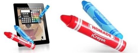 iCrayon, un stylus para que los más pequeños puedan pintar en el iPad | iPad classroom | Scoop.it