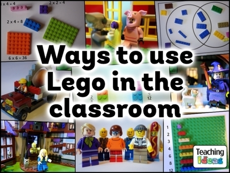 Ways to Use Lego in the Classroom | Banco de Aulas | Scoop.it