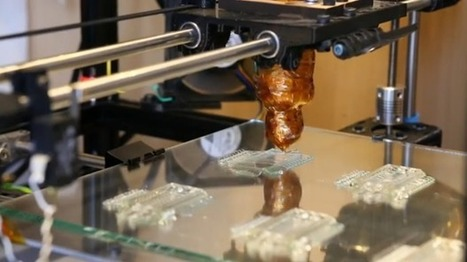 Printing living tissue with a 3D printer | SmartPlanet | {S}PATIAL .BRAIN | Scoop.it