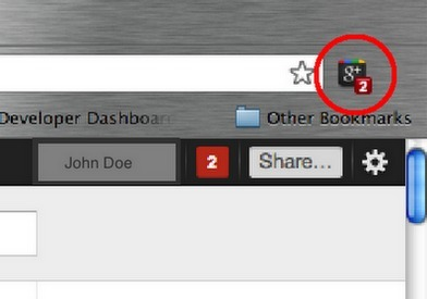 Google+ Minor Update: Notifications Number now with Slide-in Animation | Google+ and Social Networking | Scoop.it