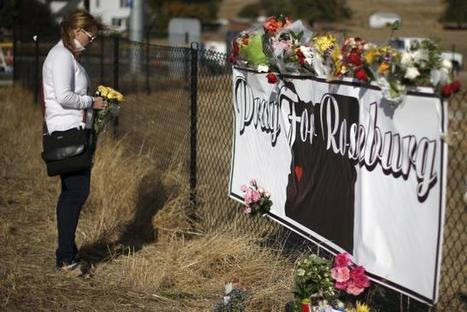 Oregon college shaken by massacre reopens with counselors, comfort dogs | Criminology and Economic Theory | Scoop.it