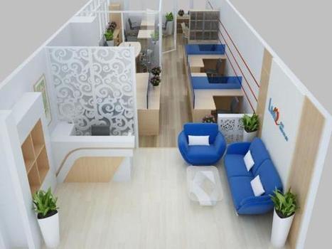 Thiết kế thi công nội thất văn phòng khu làm việc | gạch lát sân | Scoop.it