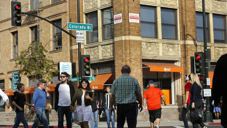 Los Angeles on cusp of becoming 'major' walkable city, study says | Innate Ecology | Scoop.it