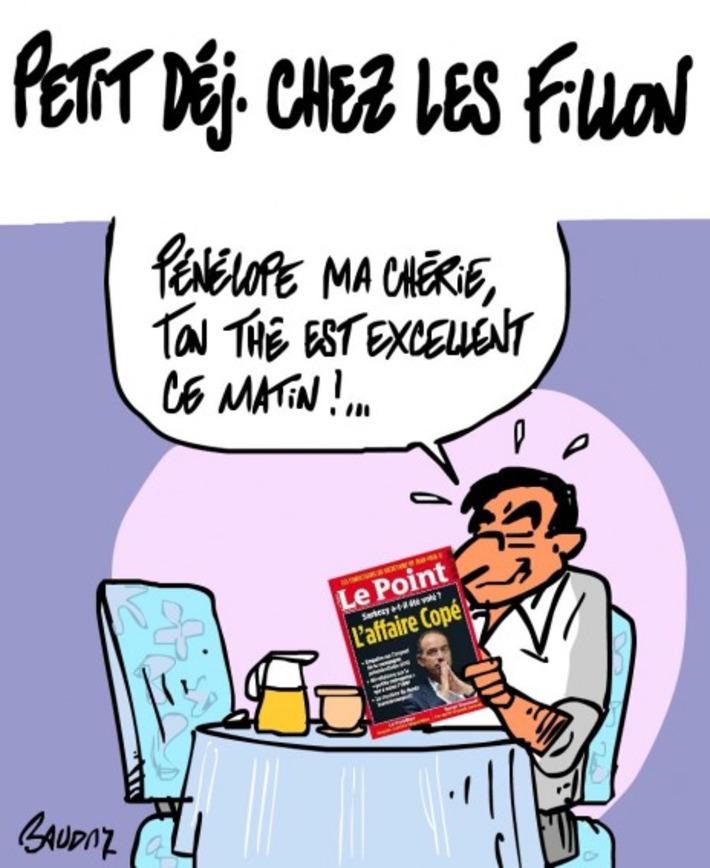 Petit déj' chez les Fillon | Baie d'humour | Scoop.it
