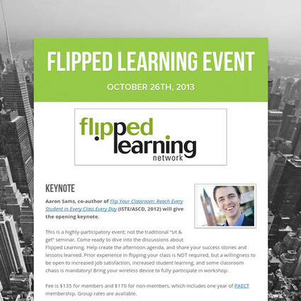 Flipped Learning Event | Sheila's Internet Safety | Scoop.it