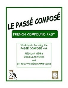 Passé composé - Worksheets for the French Compound Past | French Resources to Download and Print | Scoop.it