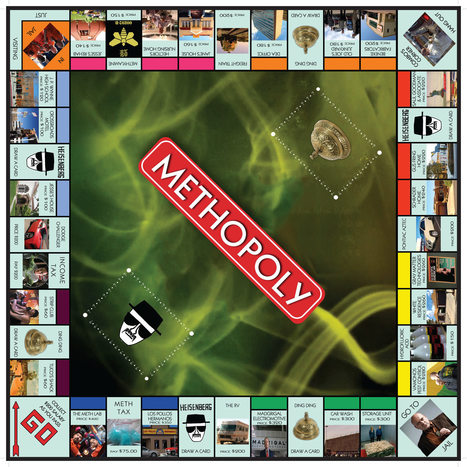Methopoly: Breaking Bad Monopoly | Breaking Bad | Scoop.it