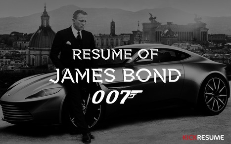 Resume of James Bond [infographic] | Ejemplos de estrategias de contenidos seleccionados por Eva Sanagustin | Scoop.it