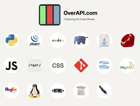 OverAPI.com   Collecting all the cheat sheets   Random Dev Note   Scoop.it