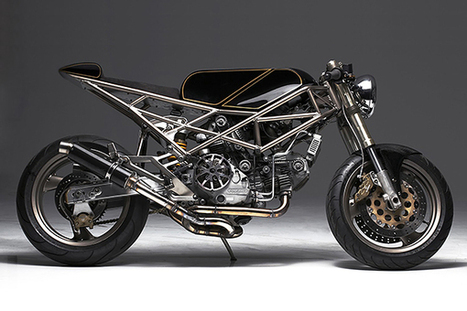 Ducati Monster 900 by Hazan Motorworks | Ductalk Ducati News | Scoop.it