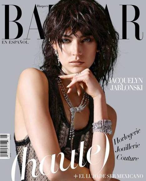 Jacquelyn Jablonski Covers Harper's Bazaar Magazine - Magazines Cover Girl | Magazines Cover Girl | Scoop.it