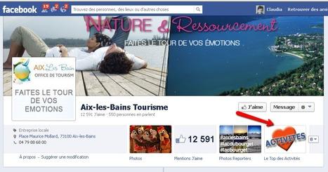 Page Facebook d'Aix-les-Bains Tourisme | Sites qui ont implémenté les Widgets Sitra | Scoop.it