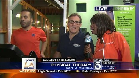 L.A. Marathon: Official Physical Therapy Provider- Brett Carducci - KTLA | Sports Ethics: Parker, D. | Scoop.it