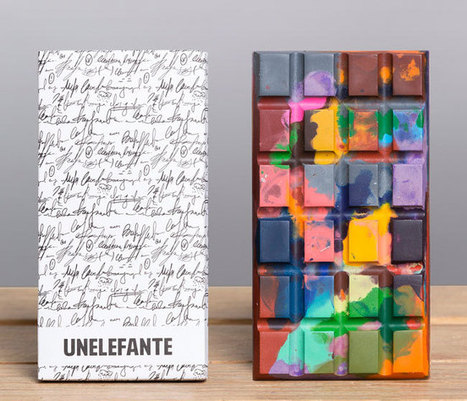 UNELEFANTE: Quando il cioccolato diventa una tela di Pollock e non solo… | Giusy Barbato | Food & Beverage - Art,Communication & Marketing | Scoop.it