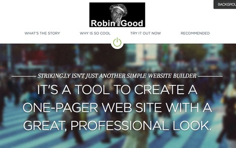 One-Page Builder Makes It Easy To Create Great-Looking Web Pages: Striking.ly | SocialWebBusiness | Scoop.it