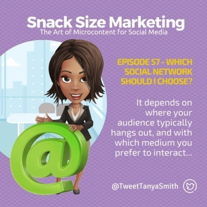 Which Social Network Should I Choose? EP057 | Snack Size Content Marketing Strategy | Scoop.it