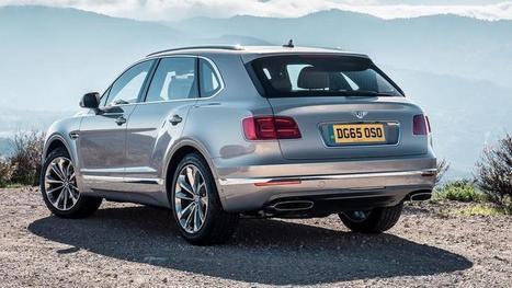 Avec le Bentayga, Bentley signe sa conversion au SUV   Luxe & Luxury   Scoop.it