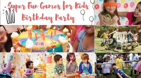 House for my chaos: Cool Ideas for Kid's Birthday Party at Home | House cleaning | Scoop.it